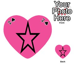 Star Playing Cards 54 (heart)