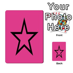 Star Multi Purpose Cards (rectangle)