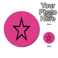 Star Multi Purpose Cards (round)