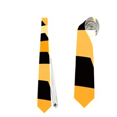 Spider Helloween Yellow Neckties (one Side)