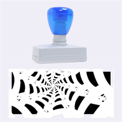 Spider Helloween Yellow Rubber Stamps (large)