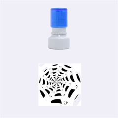 Spider Helloween Yellow Rubber Round Stamps (small)
