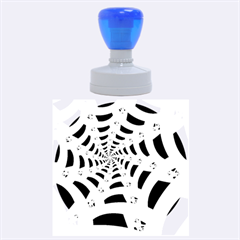 Spider Helloween Yellow Rubber Round Stamps (large)