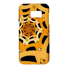 Spider Helloween Yellow Samsung Galaxy S7 Hardshell Case