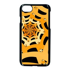Spider Helloween Yellow Apple Iphone 7 Seamless Case (black)