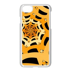 Spider Helloween Yellow Apple Iphone 7 Seamless Case (white)