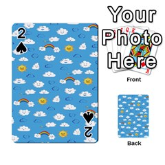 White Clouds Playing Cards 54 Designs