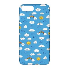 White Clouds Apple Iphone 7 Plus Hardshell Case