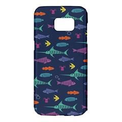 Twiddy Tropical Fish Pattern Samsung Galaxy S7 Edge Hardshell Case