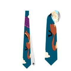 Foxfabricsmall Weasel Neckties (two Side)