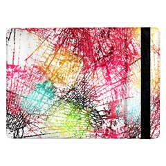 Colorful Abstract Samsung Galaxy Tab Pro 12.2  Flip Case