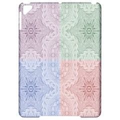 Seamless Kaleidoscope Patterns In Different Colors Based On Real Knitting Pattern Apple iPad Pro 9.7   Hardshell Case