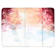 Faded pink nature  Samsung Galaxy Tab 7  P1000 Flip Case