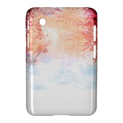 Faded pink nature  Samsung Galaxy Tab 2 (7 ) P3100 Hardshell Case