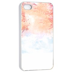 Beautiful faded nature  Apple iPhone 4/4s Seamless Case (White)