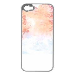 Beautiful faded nature  Apple iPhone 5 Case (Silver)