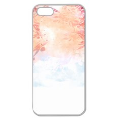 Beautiful faded nature  Apple Seamless iPhone 5 Case (Clear)
