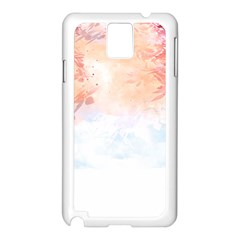 Beautiful faded nature  Samsung Galaxy Note 3 N9005 Case (White)