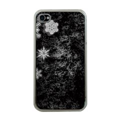 Shining Snowflakes Apple iPhone 4 Case (Clear)