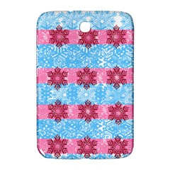 Pink Snowflakes Pattern Samsung Galaxy Note 8.0 N5100 Hardshell Case