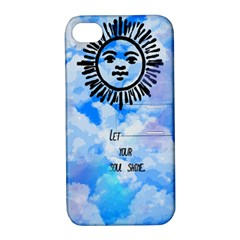 Let Your Sun Shine  Apple iPhone 4/4S Hardshell Case with Stand