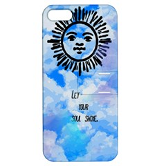 Let Your Sun Shine  Apple iPhone 5 Hardshell Case with Stand