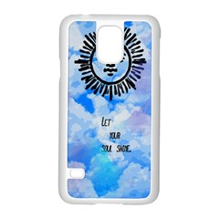 Let Your Sun Shine  Samsung Galaxy S5 Case (White)