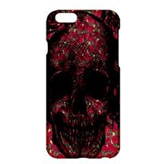 Vintage Pink Flowered Skull Pattern  Apple iPhone 6 Plus/6S Plus Hardshell Case