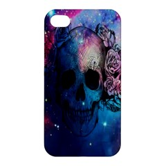 Colorful Space Skull Pattern Apple iPhone 4/4S Hardshell Case