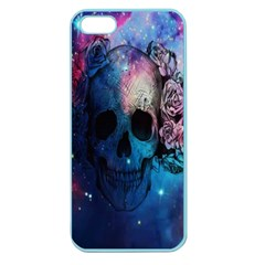 Colorful Space Skull Pattern Apple Seamless iPhone 5 Case (Color)