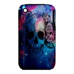 Colorful Space Skull Pattern iPhone 3S/3GS