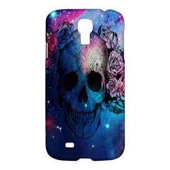 Colorful Space Skull Pattern Samsung Galaxy S4 I9500/I9505 Hardshell Case