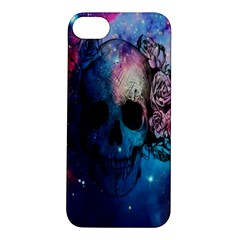 Colorful Space Skull Pattern Apple iPhone 5S/ SE Hardshell Case