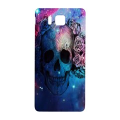 Colorful Space Skull Pattern Samsung Galaxy Alpha Hardshell Back Case