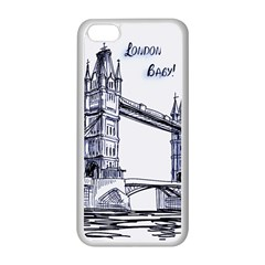 Lovely London Baby  Apple iPhone 5C Seamless Case (White)