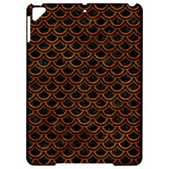 Scales2 Black Marble & Brown Marble Apple Ipad Pro 9 7   Hardshell Case