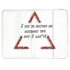 You Without Me  Samsung Galaxy Tab 7  P1000 Flip Case
