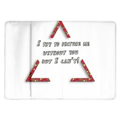 You Without Me  Samsung Galaxy Tab 10.1  P7500 Flip Case