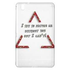 You Without Me  Samsung Galaxy Tab Pro 8.4 Hardshell Case