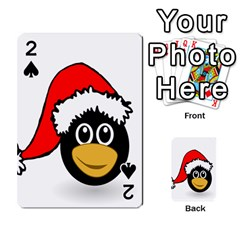 Christmas Animal Clip Art Playing Cards 54 Designs