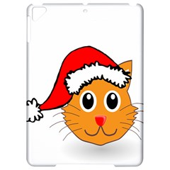 Cat Christmas Cartoon Clip Art Apple iPad Pro 9.7   Hardshell Case