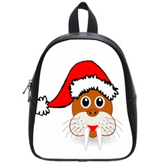 Child Of Artemis Christmas Animal Clipart School Bags (small)