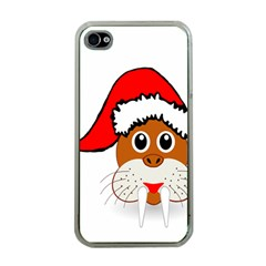 Child Of Artemis Christmas Animal Clipart Apple Iphone 4 Case (clear)