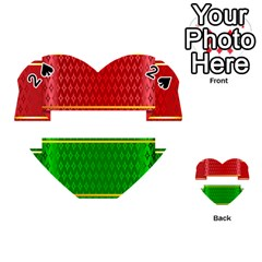 Christmas Banners Clipart Playing Cards 54 (heart)