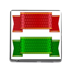 Christmas Banners Clipart Memory Card Reader (square)