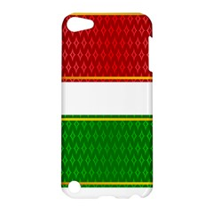 Christmas Banners Clipart Apple Ipod Touch 5 Hardshell Case