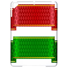 Christmas Banners Clipart Apple iPad Pro 9.7   Hardshell Case