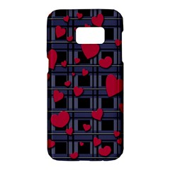 Decorative love Samsung Galaxy S7 Hardshell Case