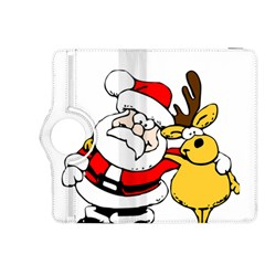 Christmas Santa Claus Kindle Fire Hdx 8 9  Flip 360 Case