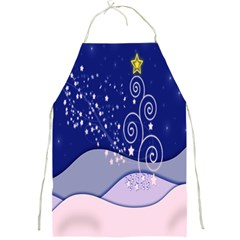 Christmas Tree Full Print Aprons